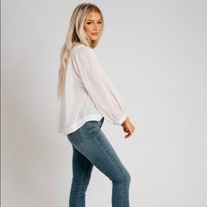Free People // Cool Meadow Top // brand new